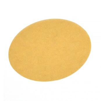Blanka klistermärken, naturfärgade, ovala, 4x3cm