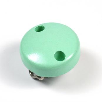 Mini-Träclips, mint