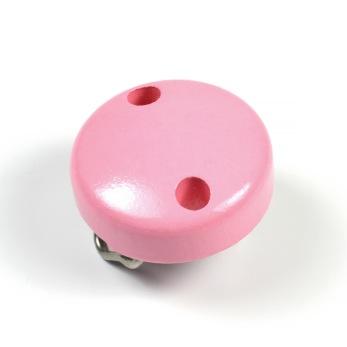 Mini-Träclips, rosa