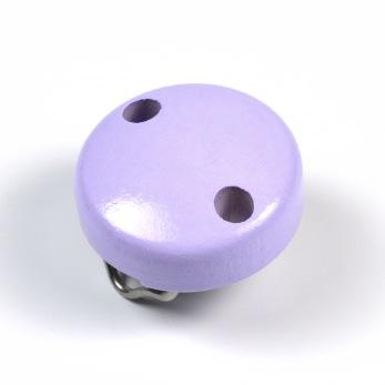 Mini-Träclips, lavendel