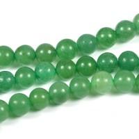 Aventurin pärlor, grön, 6mm