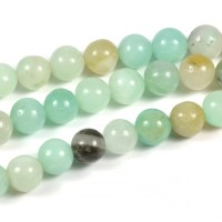 Amazonit pärlor, 6mm