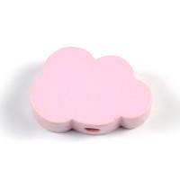 Motivpärla litet moln, ljusrosa