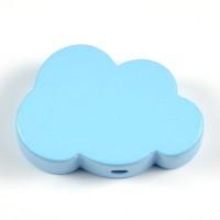 Motivpärla moln, ljusblå
