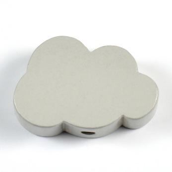 Motivpärla moln, ljusgrå