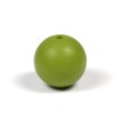 Silikonpärlor 15mm, olivgrön