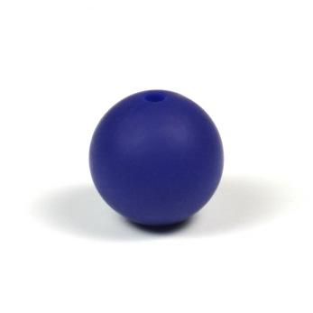 Silikonpärlor 15mm, midnattsblå