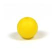 Silikonpärlor 12mm, gul