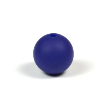 Silikonpärlor 12mm, midnattsblå