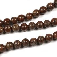 Bruna snowflake pärlor, 6mm – utförsäljning