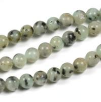 Sesam jaspis pärlor, 6mm – utförsäljning