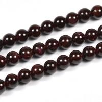 Granat pärlor, 6mm