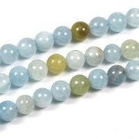 Akvamarin pärlor, 6mm
