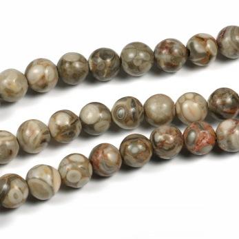 Maifanite pärlor, 6mm