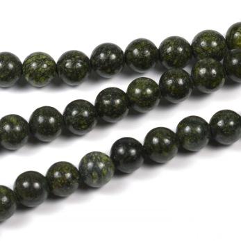 Rysk serpentin pärlor, 6mm