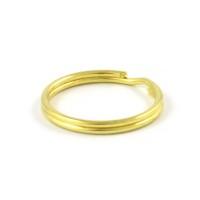 Nyckelring, guld, 20mm