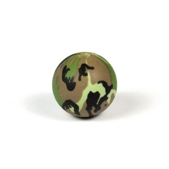 Silikonpärlor 15mm, camouflage