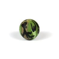 Silikonpärlor 12mm, camouflage