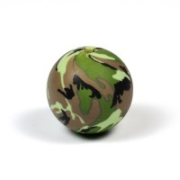 Silikonpärlor 20mm, camouflage