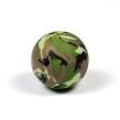 Silikonpärlor 19mm, camouflage