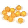 Silikonpärlor 12mm, pärlemor-guld