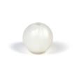 Silikonpärlor 12mm, pärlemor-vit