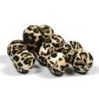 Silikonpärlor 15mm, leopard päls