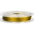 Smyckeswire 0,38mm, 10m - guld