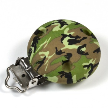 Silikonclips, camouflage