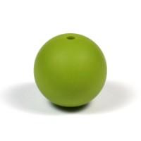 Silikonpärlor 19mm, olivgrön