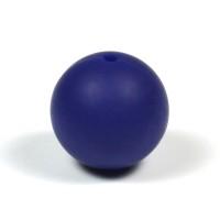 Silikonpärlor 19mm, midnattsblå