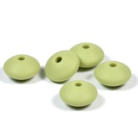 Silikonlinser 12mm, pistagegrön