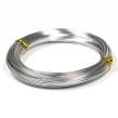 Aluminiumtråd, silver, 1,5mm, 10m