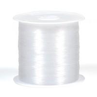 Nylontråd, ej elastisk, 0,3mm, 75m