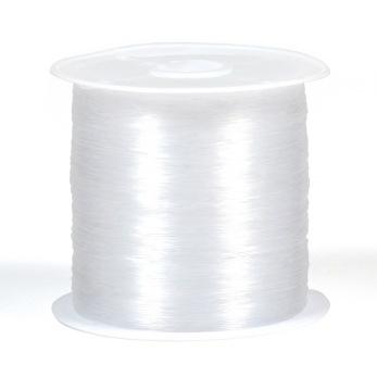 Nylonlina, ej elastisk, 0,3mm, 75m