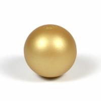 Silikonpärlor 19mm, guld
