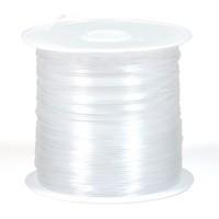 Nylonlina, ej elastisk, 1mm, 5m