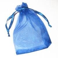 Organzapåse blå 9x12cm – utförsäljning