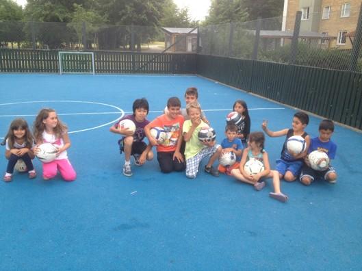 Glada kids från Nydala.