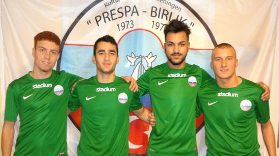 Från vänster: Renad El Jerbi, Hogr Aziz, Tarek Bekar, Qendrim Selmani.