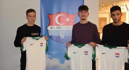 Från vänster: Max Nordlinder, Gani Bunjaku & Omar Khattab.