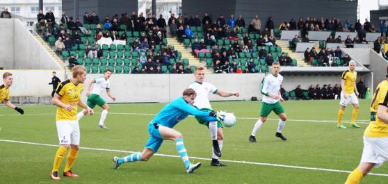 Bild från fjolårets match mot Lunds BK