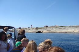Båtfärd till Hållö.