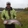 2013.10.05 - Dan sätter personbästa med en Regnbåge på 6,3 kg