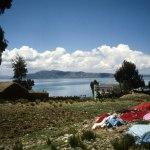 Titicacasjön från Boliviasidan