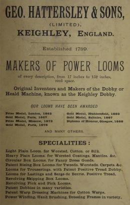 Annons från 1895