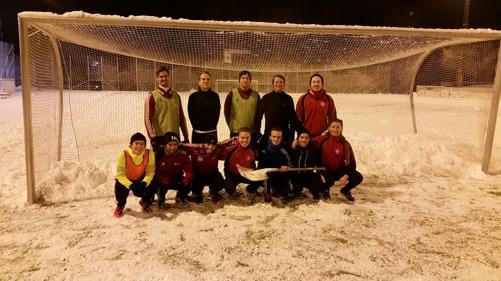 Övre raden(från vänster): Jonas, Calle, Oscar, Olle, Joakim. Nedre raden(från vänster): Axel, William, Elias, Gustav, Erik(med skyffel), Sebastian, Fredrik.
