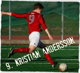 Blir det mål ikväll för Kristian? Se för er själva kl 20.00 på Stora mossens IP.