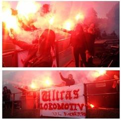 Förhoppningsvis så har Ultras Lokomotiv förberett något liknande till onsdagens match.