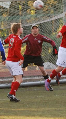 Kristian Andersson gjorde hela fyra mål under fredagens match.